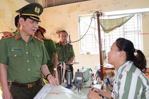 Thứ trưởng Nguyễn Văn Sơn thăm, làm việc với Trại giam Thanh Xuân và Trại tạm giam T16