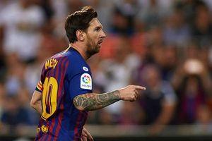 Lionel Messi 'nổ súng', Barca vẫn phải chia điểm trước Valencia