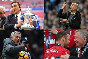 BXH 10 HLV có tỉ lệ thắng cao nhất NHA: Mourinho kém xa Pep Guardiola