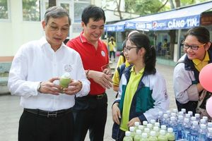 Hàng nghìn học sinh tham gia ngày hội đọc sách tại Hà Nội