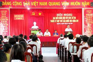 BẢN TIN MẶT TRẬN: Chủ tịch Trần Thanh Mẫn tiếp xúc cử tri tại Cần Thơ