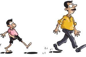 Con cái luôn noi gương cha mẹ