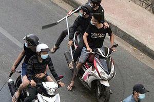 Hai nhóm giang hồ dùng ám hiệu khi hỗn chiến ở Sài Gòn