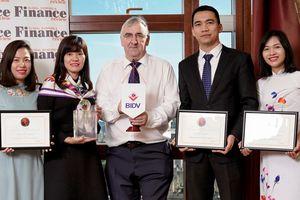 BIDV nhận liên tiếp 3 giải thưởng quốc tế