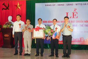 Xã Ninh Hiệp đón Bằng công nhận đạt chuẩn Nông thôn mới