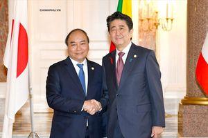 Thủ tướng Nguyễn Xuân Phúc dự Hội nghị Cấp cao hợp tác Mekong-Nhật Bản