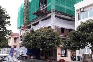 Dự án chung cư Đại Nam xây đến tầng 6 nhưng chưa có giấy phép!