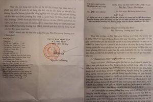 Hà Nội báo cáo Chính phủ về vi phạm trong quản lý đất đai, xây dựng trên đường Nguyễn Hoàng