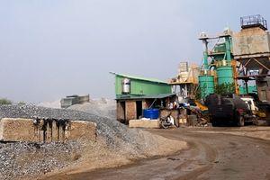 Gia Lâm, Hà Nội: Bến bãi vật liệu xây dựng, trạm trộn bê tông hoạt động trái phép thách thức pháp luật