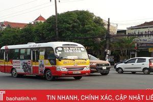 Các tuyến xe buýt Hà Tĩnh đồng loạt tăng giá