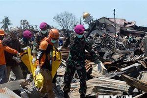 10.000 nhân viên cứu hộ đẩy nhanh tìm kiếm nạn nhân động đất sóng thần