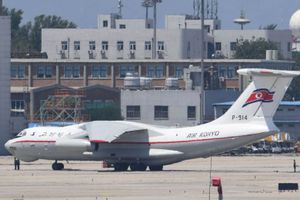 Máy bay vận tải cỡ lớn của Triều Tiên bất ngờ xuất hiện tại Nga