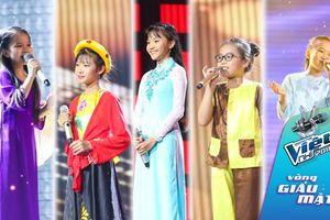 Vòng Giấu mặt - The Voice Kids: Truyền thống Việt phủ sóng sân khấu nhí!