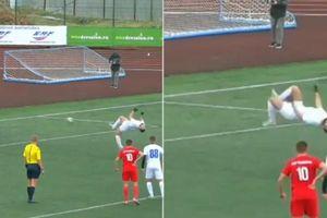 Với pha đá penalty 'lộn cầu vồng' chỉ có trong truyện tranh - Cầu thủ U21 khiến cả thế giới thán phục