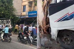 Thái Nguyên: Đứng đợi xe buýt trên vỉa hè, bà lão 72 tuổi bị xe tải tông chết