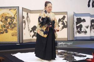 Hơn 40.000 người tới xem Triển lãm thư pháp lớn nhất thế giới tại Nhật