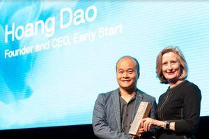 Trao thưởng cho doanh nhân công nghệ người Việt Đào Xuân Hoàng - Nhà sáng lập ứng dụng Monkey Junior