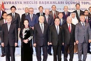 Chủ tịch Quốc hội Nguyễn Thị Kim Ngân dự Hội nghị Chủ tịch Quốc hội các nước Á Âu lần thứ ba