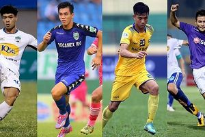 BXH 'Vua phá lưới nội' V-League 2018: U23 Việt Nam làm nên top 3