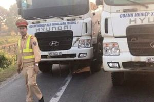Xử lý nghiêm đoàn xe tải làm loạn quốc lộ 10, cản trở người thi hành công vụ ở Quảng Ninh