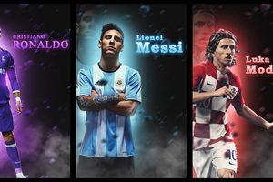 Modric cạnh tranh 'Quả bóng vàng 2018' với Ronaldo và Messi