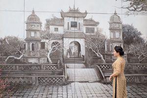 Trình diễn thời trang và âm nhạc 'Sắc thu Hà Nội' trên phố bích họa