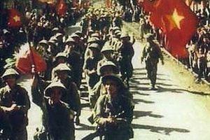 Những địa điểm mang dấu chân lịch sử của đoàn quân giải phóng Thủ đô