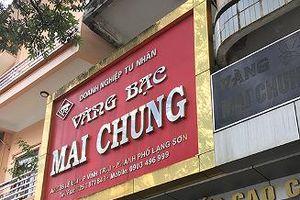 Công an TP. Lạng Sơn thông tin về vụ mất trộm tài sản lớn tại hiệu vàng Mai Chung