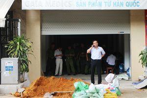 Ba người bị điện giật khi đang lắp cáp tời ở Đà Nẵng