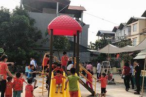 Quận Bắc Từ Liêm ra mắt sân chơi 'Vì sức khỏe cộng đồng'