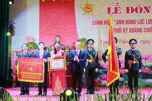 Phường Trần Phú đón nhận danh hiệu Anh hùng lực lượng vũ trang Nhân dân
