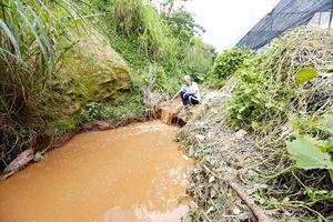 Khốn khổ nước thải tại chợ nông sản Đà Lạt gây ô nhiễm