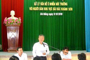 Đà Nẵng đối thoại với người dân về vấn đề ô nhiễm bãi rác