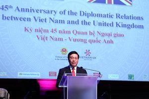 Kỷ niệm 45 năm thiết lập quan hệ ngoại giao Việt-Anh