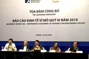Kinh tế Việt Nam tăng trưởng khả quan, đề phòng lạm phát