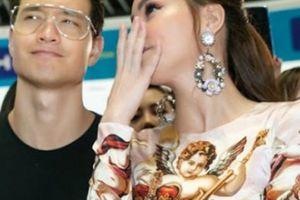 Hồ Ngọc Hà sang trọng với váy Dolce Gabbana Đàm Vĩnh Hưng tặng