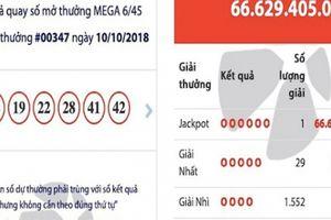 Sau 2 tháng được 'vỗ béo', jackpot 'khủng' Mega 6/45 'nổ' ở Quảng Ninh