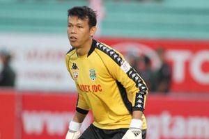 Thủ môn Tấn Trường tuyên chiến 'dàn sao' Hà Nội FC