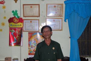 Gương sáng cựu chiến binh Khmer