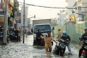 Lộ thêm 'thủ phạm' gây ngập ở khu Nam Sài Gòn