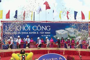 Tây Ninh khởi công dự án Bệnh viện Đa khoa Xuyên Á