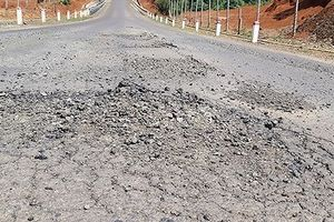 Đường gần trăm tỷ 'nát bét', Công ty Thuận Nguyên phải chịu trách nhiệm sửa chữa