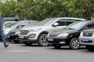 Dừng thực hiện thí điểm đề án xe ôtô công tại TPHCM