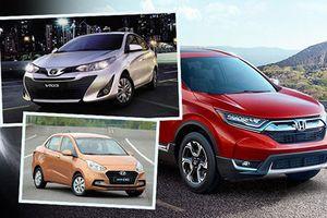Xe Hàn, Nhật lấp kín top ôtô bán chạy nhất Việt Nam