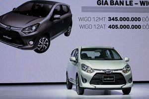 Xe giá rẻ Toyota Wigo vừa ra mắt đã 'cháy hàng'