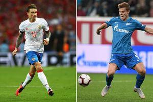 Hai ngôi sao bóng đá Nga bị bắt vì hành hung quan chức chính phủ