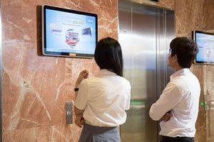 Quảng cáo truyền thông số thế hệ mới kênh TV & Poster tòa nhà