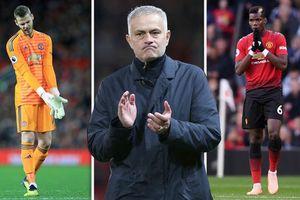 MU họp gấp Mourinho, 10 cầu thủ rời Old Trafford