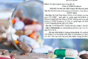 Công ty TNHH Oripharm sản xuất thuốc Unicet kém chất lượng bị thu hồi
