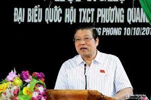 Bí thư Trung ương Đảng Phan Đình Trạc: Người dân cần tăng cường giám sát cán bộ